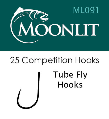 Moonlit ML091 Barbless Hook (25 hooks)