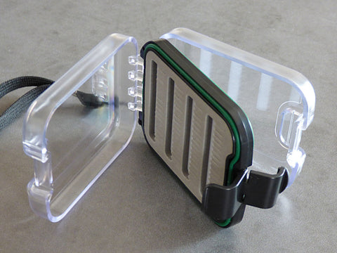 Small Plastic 2 Sided Fly Box