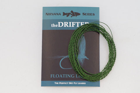theDRIFTER Furled Leader (FLOATING Dry Fly Leader)