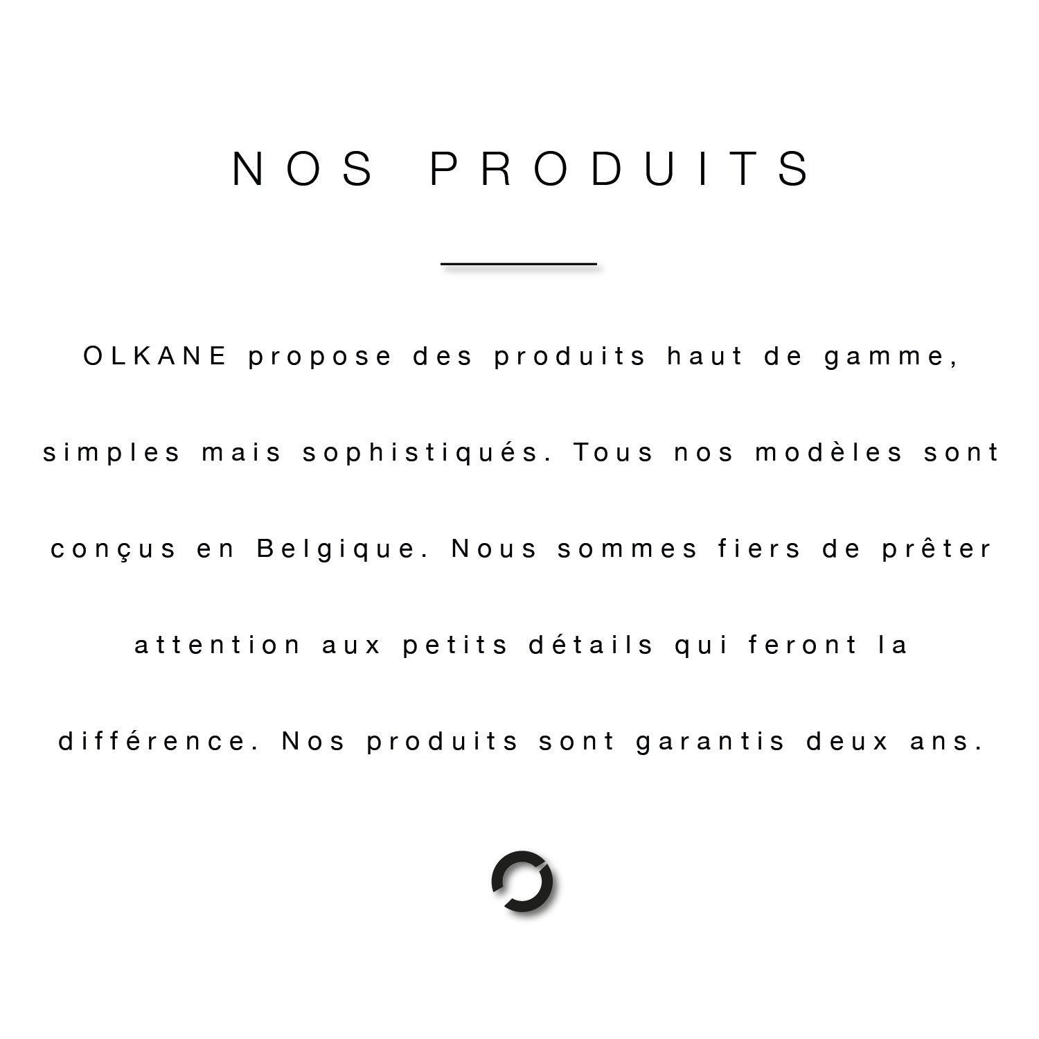 Olkane About Us Our Products Text