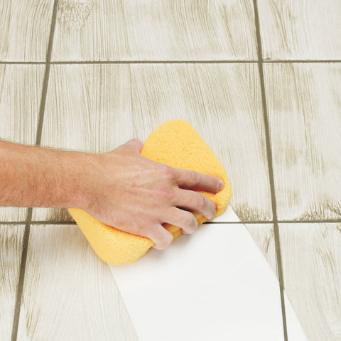 Grout cleaning sponges, systems, and other tools needed to remove excess grout