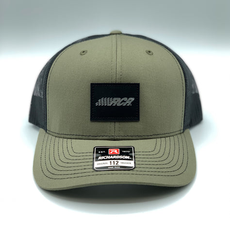 Olive Green RCR Patch Richardson 112 Hat