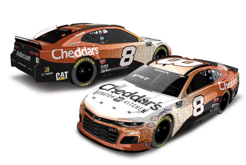 *AUTOGRAPHED* 2021 Tyler Reddick Cheddar's Scratch Kitchen 1:24 Scale Die-Cast *PRE-ORDER*