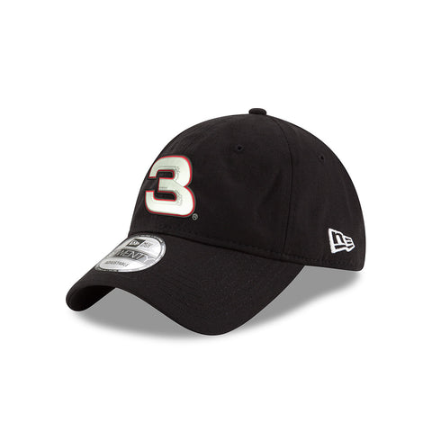 White/Red No. 3 Black New Era 9Twenty Hat