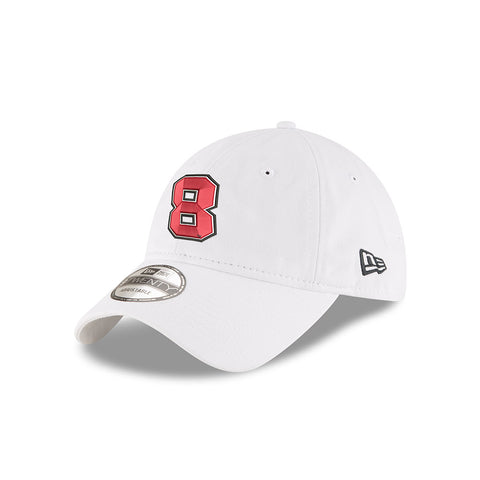 No. 8 Tyler Reddick White New Era 9Twenty Hat