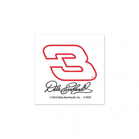 Dale Earnhardt Tattoo 4 Pack