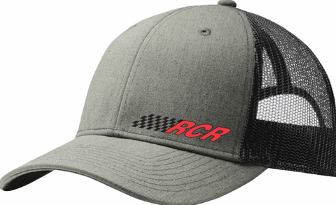 RCR Trucker Hat - Heather Grey/Black