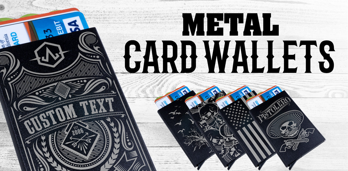 Custom Metal Card Wallets
