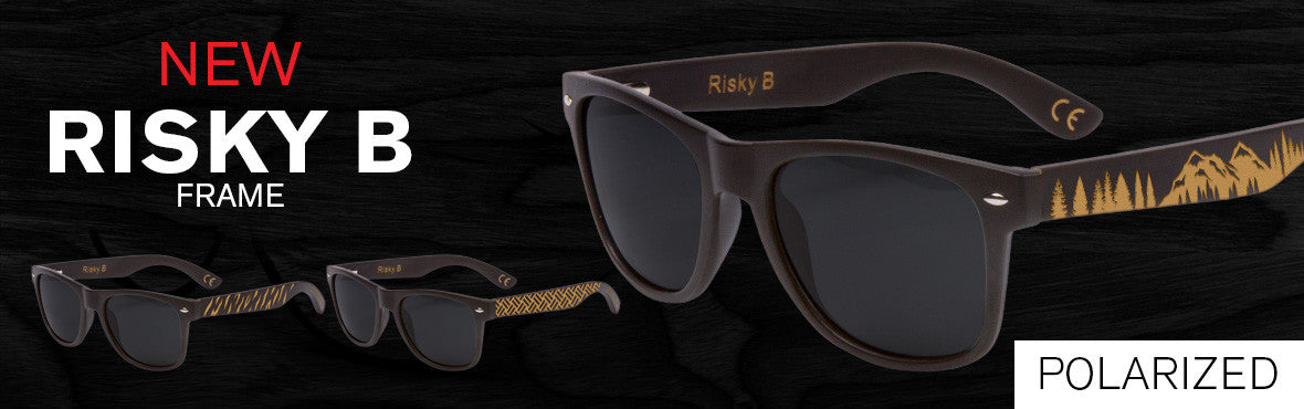 3 pair of engraved sunglasses