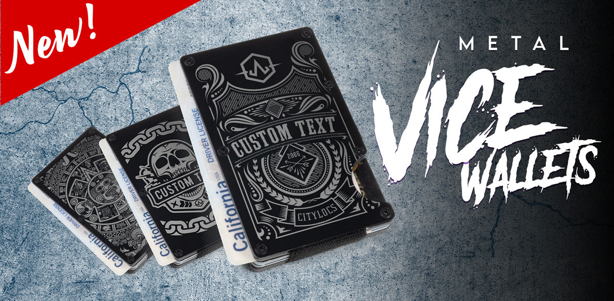 Metal Vice Wallets