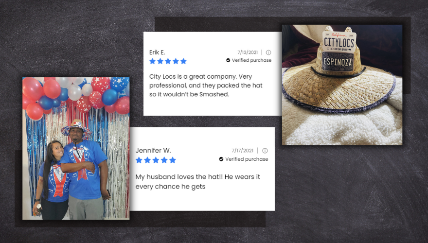 Customize Straw Hats - Customer Review