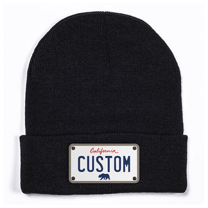 California White Beanie