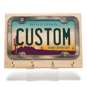 Arizona 2018 License Plate Key Rack