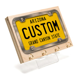 Arizona License Plate Key Rack