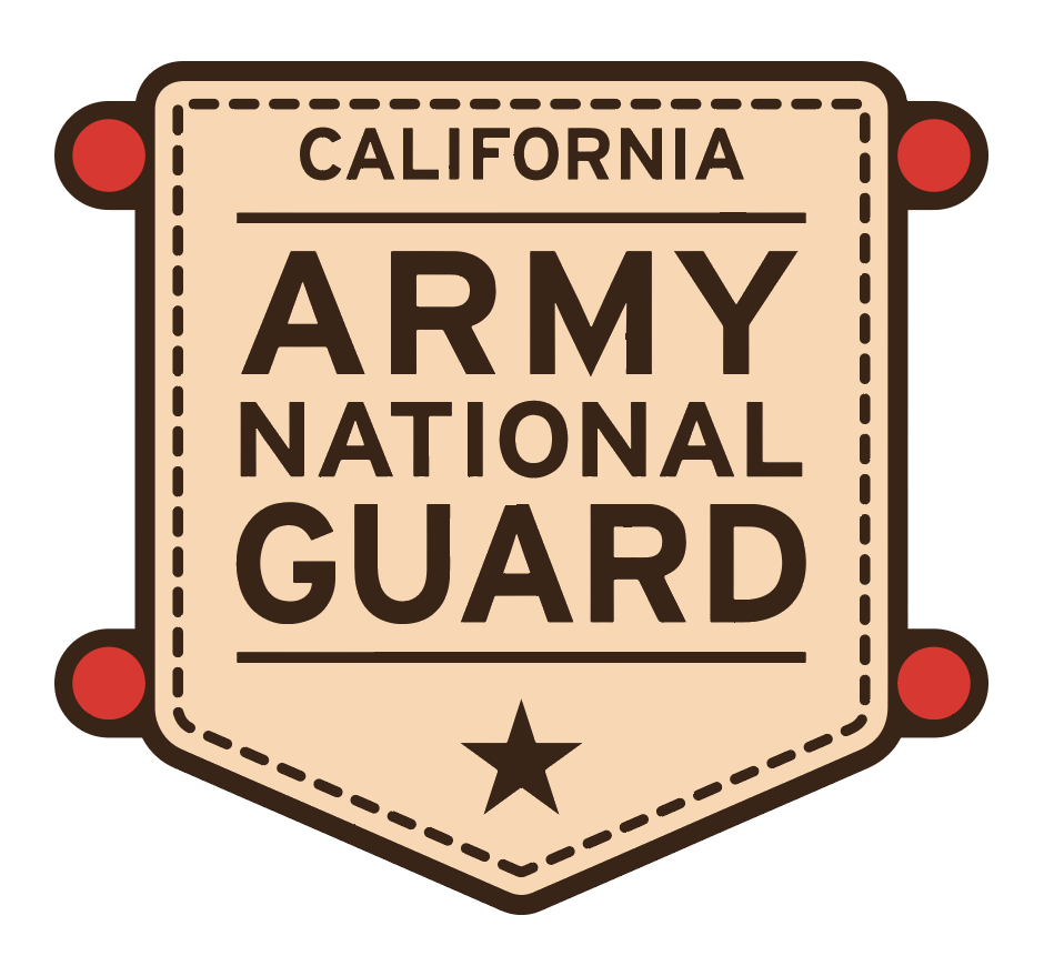 Army National Gaurd Logo- Black Snapbacks