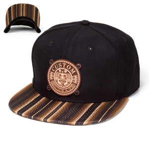 Custom Aztec Brown Sarape Hat