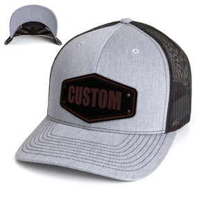 Hat - Black on Black Hex
