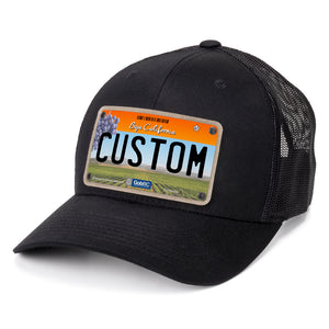 Baja California License Plate Hat