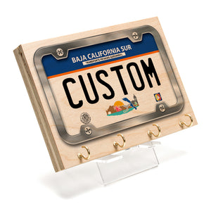 Baja California Sur License Plate Key Rack