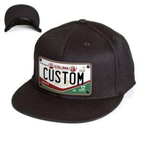 Colima License Plate Hat