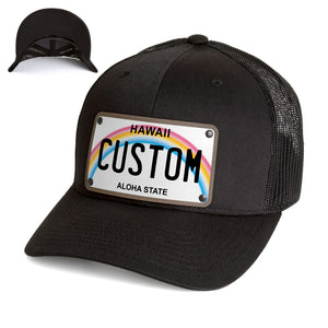 Hawaii Plate Hat