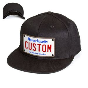 Massachusetts Plate Hat