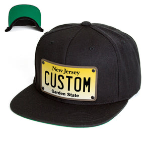 New Jersey Plate Hat