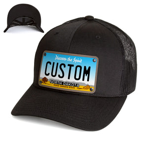 North Dakota Plate Hat
