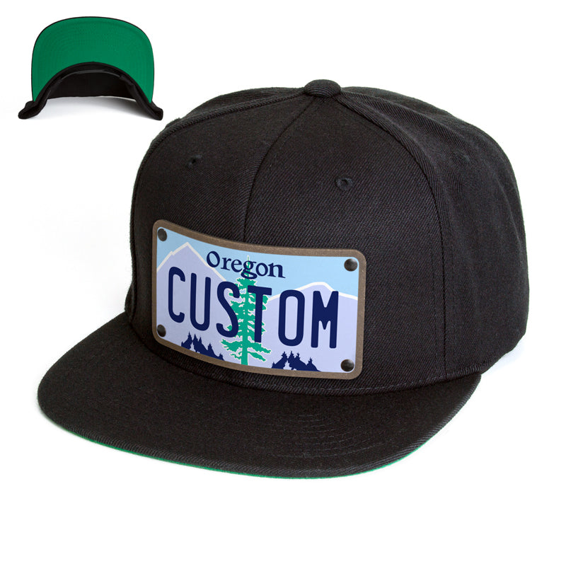 Oregon Plate Hat