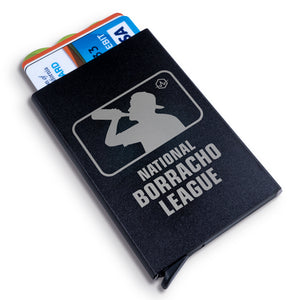 Borracho League Metal Wallet