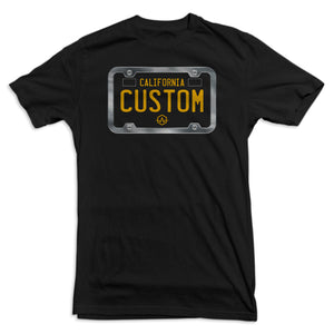 California 60's License Plate Tee