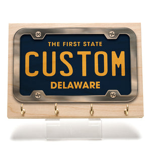 Delaware License Plate Key Rack
