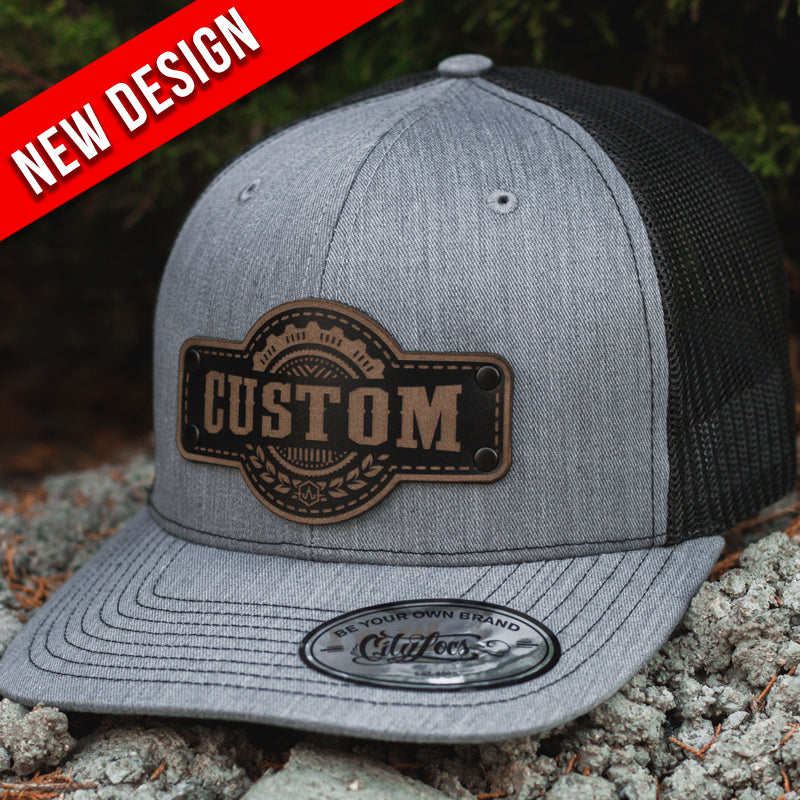 10f0397d8cee4 Trucker hat - Destruck Engraved Custom