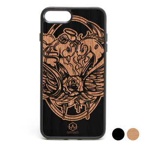 Good & Evil Bird Phone Case