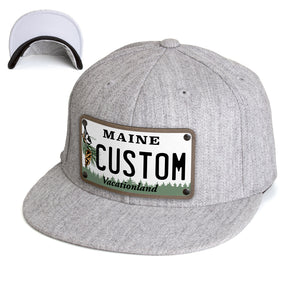 Maine Plate Hat