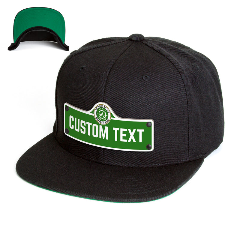 Green Street Sign Hat