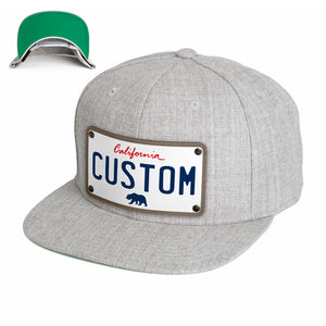 California White Plate Hat