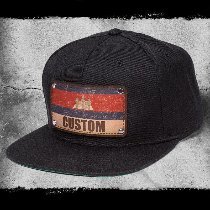 Cambodian flag hats