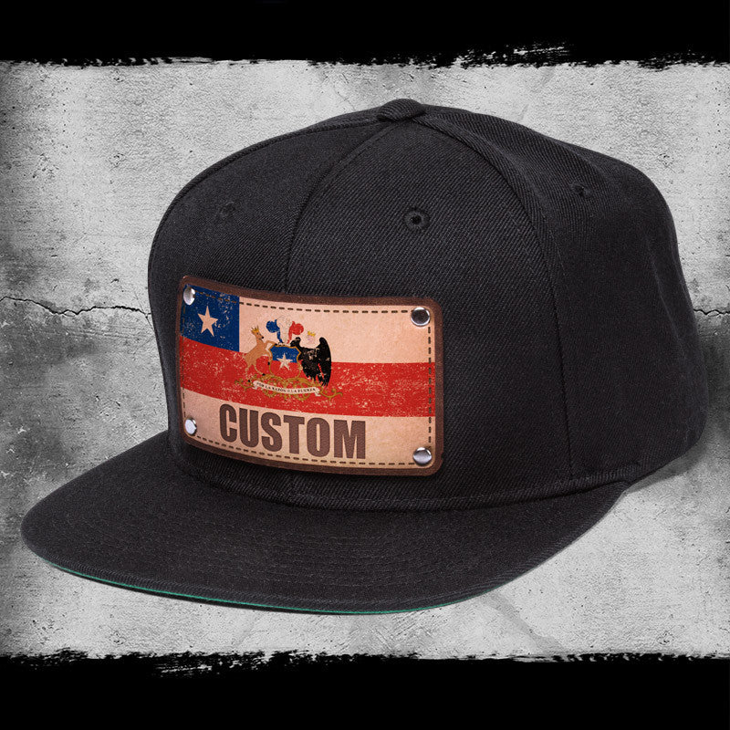 Chile flag hats