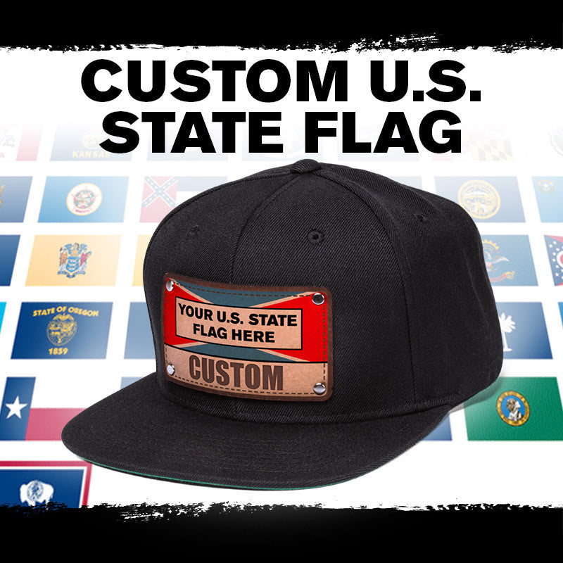 9466a65cdb5 Custom hats cheap with your home state flag available at Citylocs.com -  citylocs