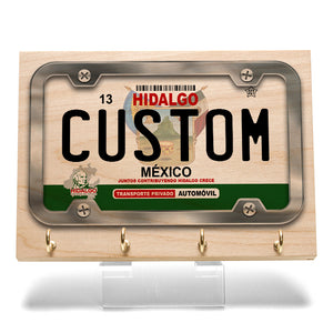 Hidalgo License Plate Key Rack