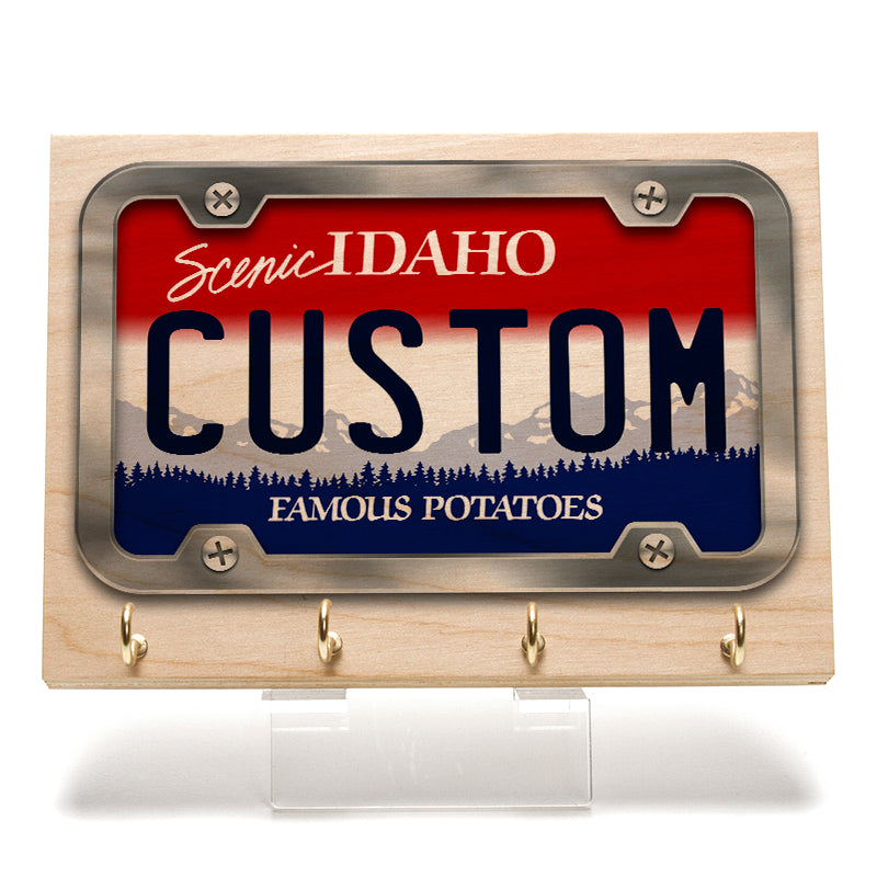 Idaho License Plate Key Rack