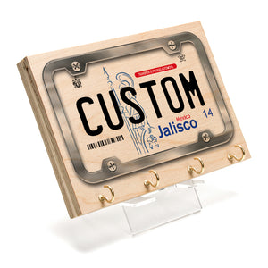 Jalisco License Plate Key Rack