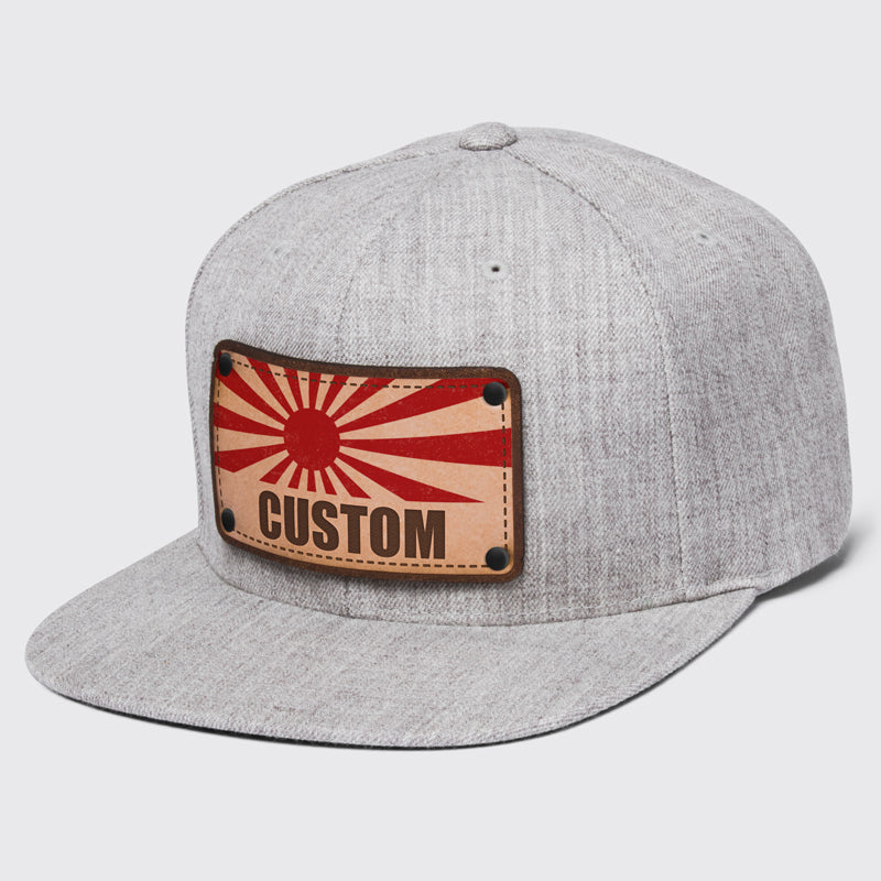 8984da4ce3b Japanese flag customizable hats made to order at Citylocs.com - citylocs