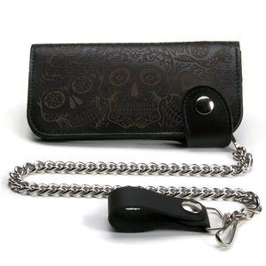 Chain Wallet - Sugar Skulls