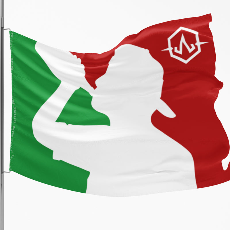 MX Borracho League 3'x5' Flag