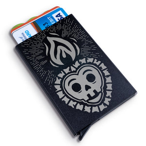 Corazon de Fuego Metal Wallet
