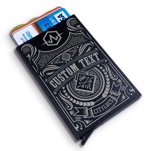 Deko Custom Metal Wallet