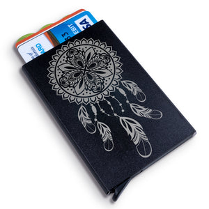 Dream Catcher Metal Wallet
