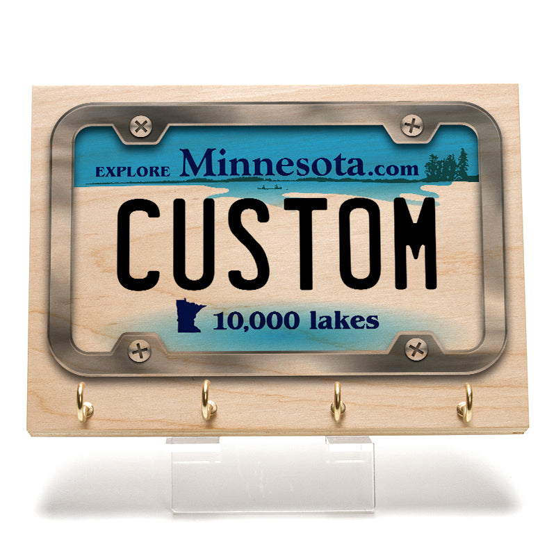 Minnesota License Plate Key Rack